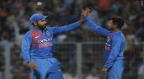 first T20 india won by 5 wickets