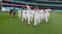 fourth test draw india won the series