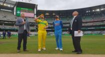 india vs australia 3rd odi match - toss win india