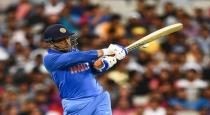 mahendra sing dhoni after 10 years man of the series