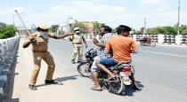 tn police warned for not following 144