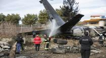 militry airoplane - eron - kirkisdan - accident in 15 persons dead