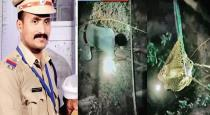 Kerala police officer saved young girl from well