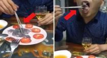 Man eat newborn mouse video goes viral