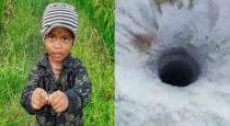 child fall in borewell