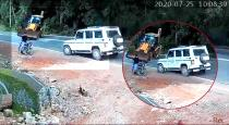 Kerala car and jcb accident viral video