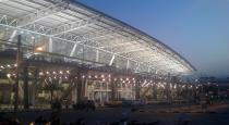 Tamil speaking security guards at Chennai airport