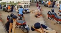 Andhra gas leak people falling down video goes viral