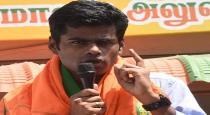 bjp leader Annamalai talk about dmk