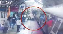 Mumbai railway police saved passenger lives viral video