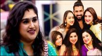 Vanitha is a half sister of actor arun vijay