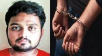young man arrestred for cheating lot of women