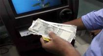 20000 rupees cash left in ATM man handover to police