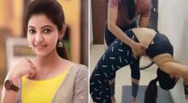 Actress Atulya Ravi Gym workout video goes viral