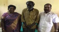 Tamilnadu BJP leader tamilisai met auto driver kathir