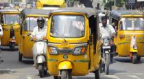Auto and taxi started in chennai