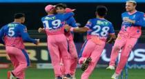 Rajasthan Royals win by 2 Runs