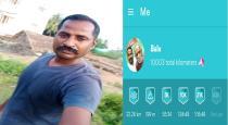 govt school teacher crossed 10000 kilometers in walking