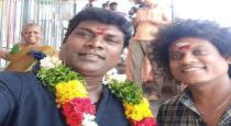 pugazh wish to vadivel balaji birthday