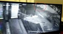 DMK MLA Praksh son car accident cctv video