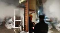 Five people including a mother and her five-year-old daughter are boiled alive