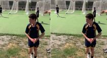 New Zealand kid bowling like bumrah video goes viral