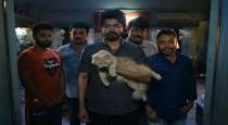 sanjeev have master movie cat safely