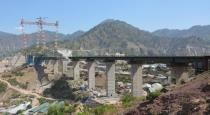 Worlds highest railway bridge at JK