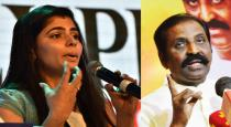 Chinmayi requests cm take action against Vairamuthu