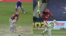 Chrish gayle throw bat when out of 99 runs against to Rajasthan