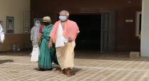 66 years old women saved her husband from corona