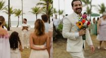 Brazil man married him self viral photos and videos