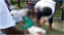3 members died in trichy by heavy current shock