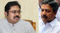 ttv dhinakaran talk about cv shanmugam