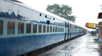 train services stopped for kaja cyclone