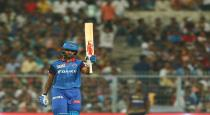 Why dhawan missed the century