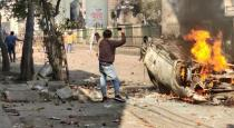 delhi violence pregnant lady attacked by people