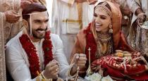 Deepika padukone ranveer singh marriage photos reveled first time
