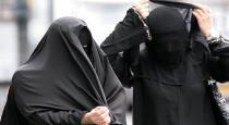 Pudukkottai fake muslim ladies hide money in burka