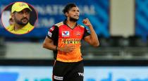 Dhonis advice is more useful says Natarajan