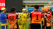 Dhoni advice to srh players viral video