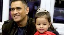 dhoni talk in tamil with daughter ziva