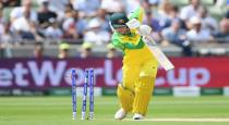 Australia lost 3 wickets in 7 overs