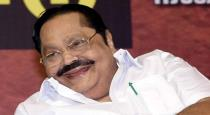 Duraimurugan admitted in hospital
