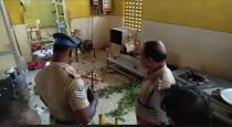DMK members attack amma hotel viral video