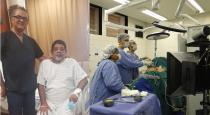 1kg tumour removed from patients kidney in Dubai