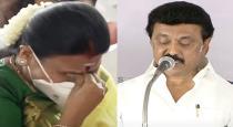 Stalin wife Durga stlain cries when stalin takes charge of CM