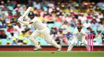India leads in firat day of last test