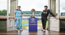 World cup final today at lords