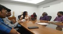 Priya anand press meet photos